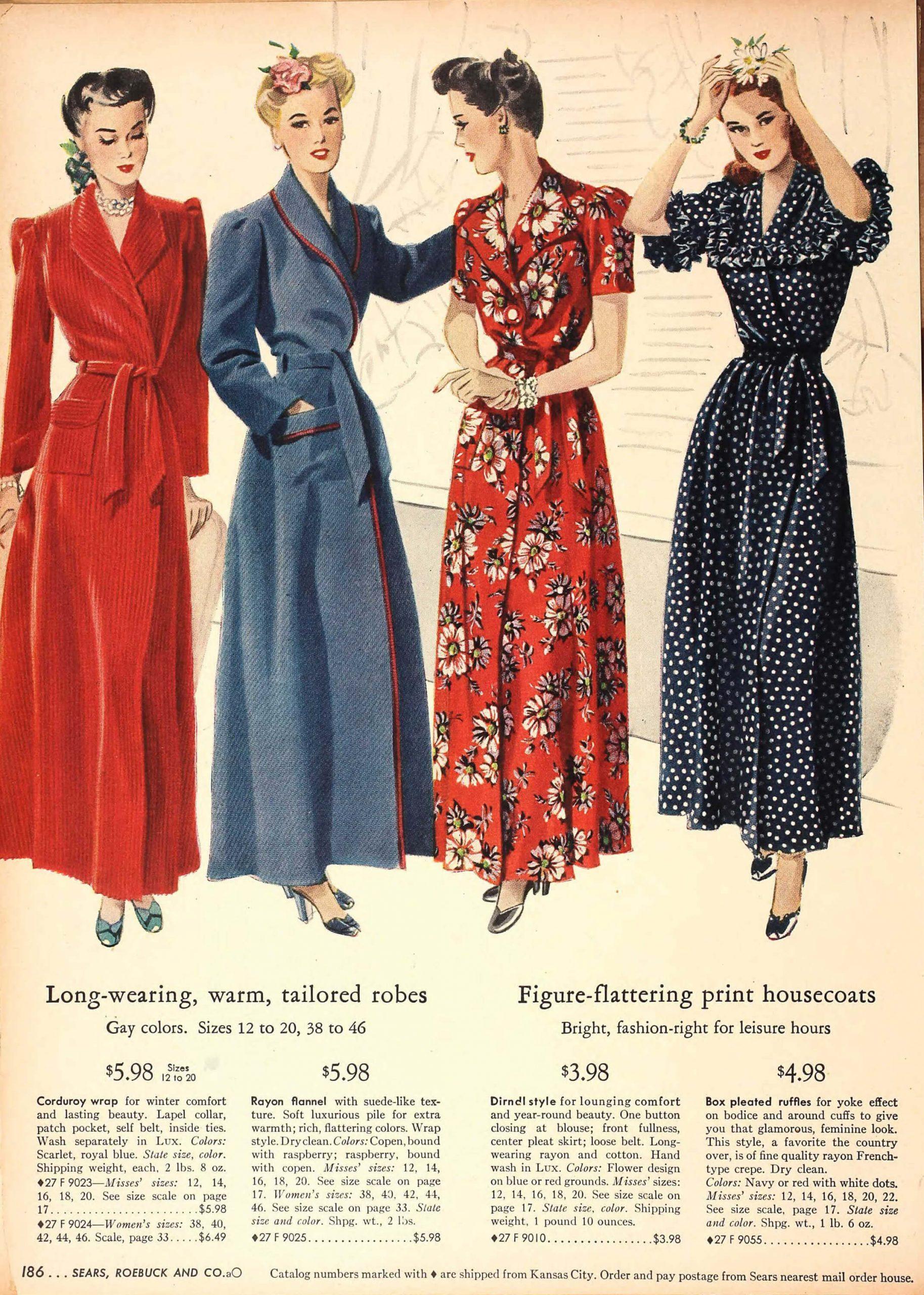 Vintage Loungewear Retrospective The Vintage Woman